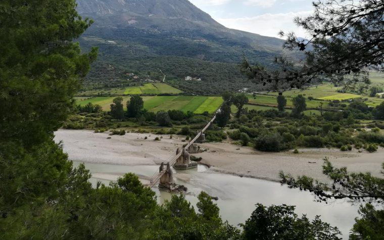 Tepelene e il suo ponte sospeso