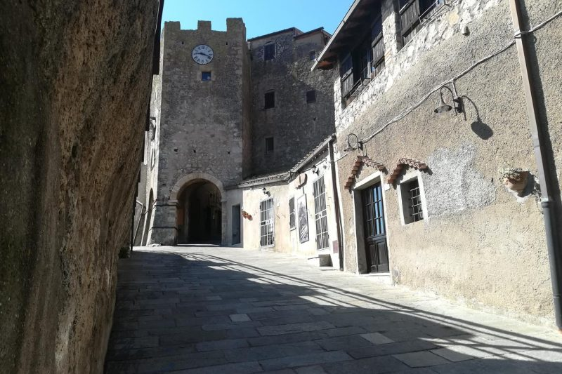 Il piccolo borgo di Capalbio