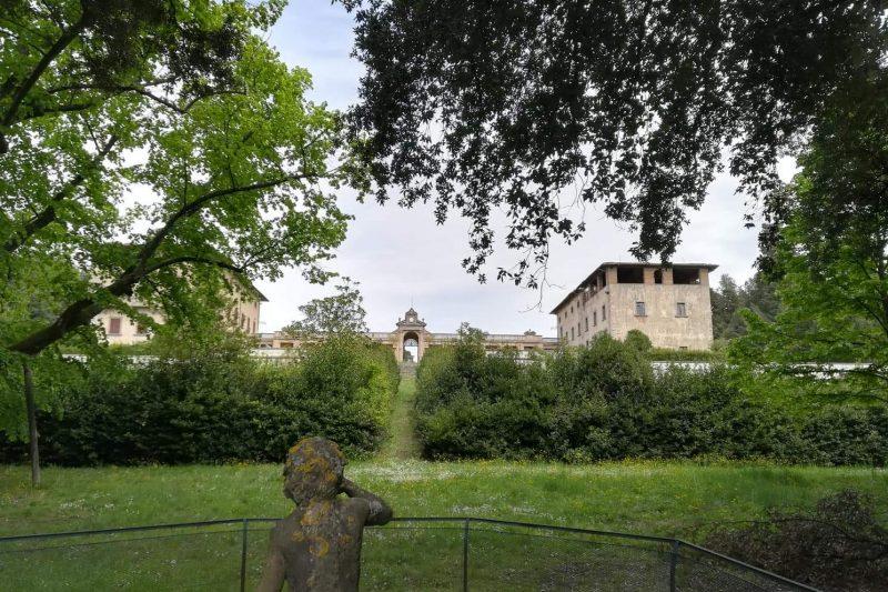 Il parco di Villa Caruso Bellosguardo