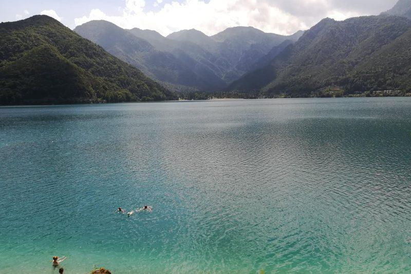 Il Lago di Ledro e la sua verde valle
